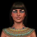 Egyian Princess Portrait by David Griffith
