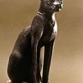Egyptian Bronze Statuette by Granger