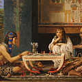 Egyptian Chess Players by Sir Lawrence Alma-Tadema