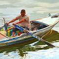 Egyptian Fisherman by Ahmed Bayomi