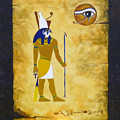Egyptian God Horus by Craig Johnstone