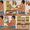 Egyptian Scribes by Granger