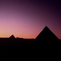 Egyptian Sunset by Gary Wonning