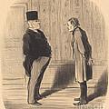 Eh! Bien Monsieur Et Mes Trois Termes... by Honor? Daumier