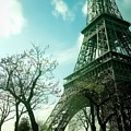 Eifell Tower View From Taxi II. by Agnes V