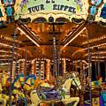 Eiffel Carrousel by Harry Spitz