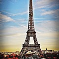 Eiffel Tower 2 by Mark D Johnson
