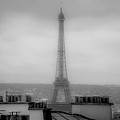 Eiffel Tower And Rooftops, Paris by Bailey Cooper Photography
