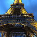 Eiffel Tower At Night. Paris by Vicky Adams