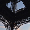 Eiffel Tower Corner by Dawn Crichton