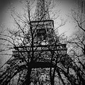 Eiffel Tower During The Winter. by Cyril Jayant