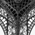 Eiffel Tower Leg by Hh Vv