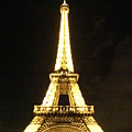 Eiffel Tower Light by Tracy Dugas