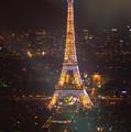 Eiffel Tower Lights by Darren White