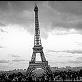 Eiffel Tower -panoramic. by Cyril Jayant