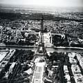 Eiffel Tower Paris In Wwii by Rachel Knight