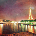 Eiffel Tower Reflections by Sharon Ann Sanowar