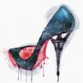 Eiffel Tower Shoe by Marian Voicu