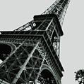 Eiffel Tower Slightly Askew by HD Hasselbarth