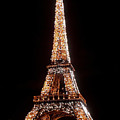 Eiffel Tower Sparkling by Al Blackford