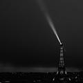Eiffel Tower Spotlight 4 Paris France by Lawrence S Richardson Jr