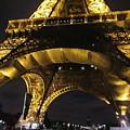 Eiffel Tower V Paris France by John Shiron