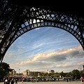 Eiffel Tower View by Chuck Kuhn