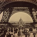 Eiffel Tower, View Toward The Central by Everett
