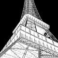 Eiffel Up Inverted by Al Blackford