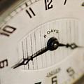 Eight Days A Week Clock by Jill Reger