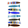 Eight Fish In A Row by Movie Poster Prints