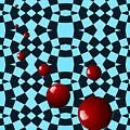 Eight Red Balls by Sarah Loft