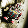 Eighties Cybernetic Droid  by Jorgo Photography - Wall Art Gallery