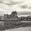 Eilean Donan Castle Bw 1337 by Bob Blankenship