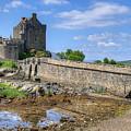 Eilean Donan Castle In Scotland by Philip Brown