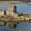Eilean Donan Castle Reflections by Maria Gaellman