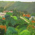 Ein Hod View by Linda Feinberg