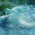 Ein Schwan - The Swan by Georgiana Romanovna