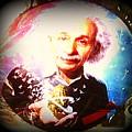 Einstein On Pot by Kelly Awad