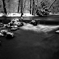 Eisbach In The Winter by Hannes Cmarits