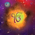 Ek Onkar Galaxy by Sarabjit Singh