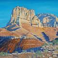 El Capitan At The Guadalupe Peaks by Paul Larson