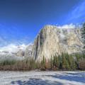 El Capitan Meadow Winter Yosemite National Park II by Wayne Moran