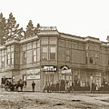 El Carmelo Bakery Lighthouse And Forest Ave. Circa 1890 by California Views Archives Mr Pat Hathaway Archives