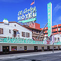 El Cortez Hotel On Fremont Street 2.5 To 1 Ratio by Aloha Art