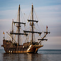 El Galeon Andalucia Tall Ship by Dale Kincaid