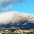 El Paso Franklin Mountains And Low Clouds by SR Green