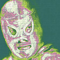 El Santo The Masked Wrestler 20130218v2m80 by Wingsdomain Art and Photography