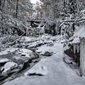 Elakala Falls Ice by Erika Fawcett