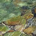 Elbow River Rocks 3 by Madeleine Arnett